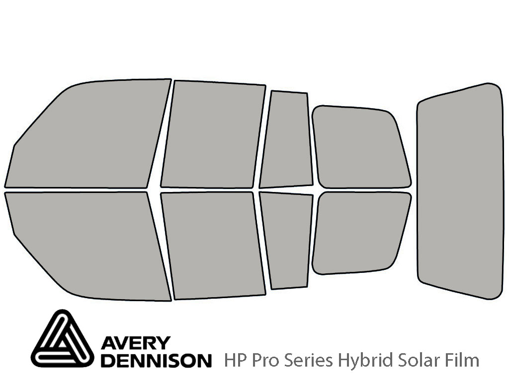 Avery Dennison Toyota Rav4 1996-2000 (4 Door) HP Pro Window Tint Kit