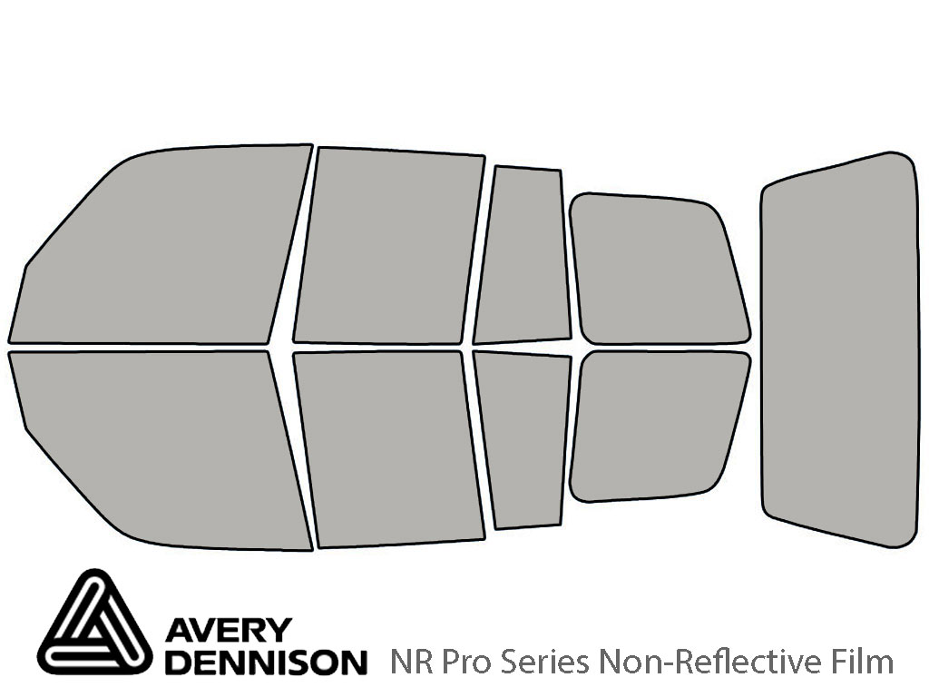 Avery Dennison Toyota Rav4 1996-2000 (4 Door) NR Pro Window Tint Kit