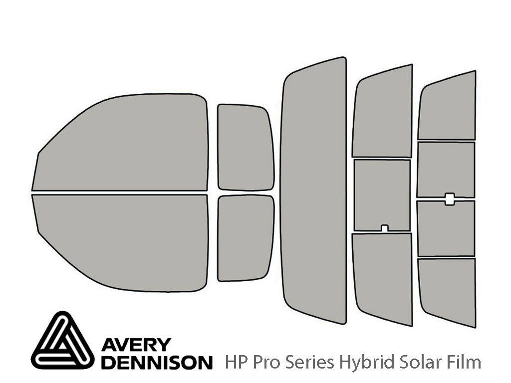 Avery Dennison Toyota Tacoma 1995-2004 (2 Door) HP Pro Window Tint Kit