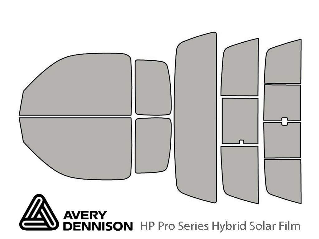 Avery Dennison Toyota Tacoma 1995-2004 (2 Door Extended Cab) HP Pro Window Tint Kit