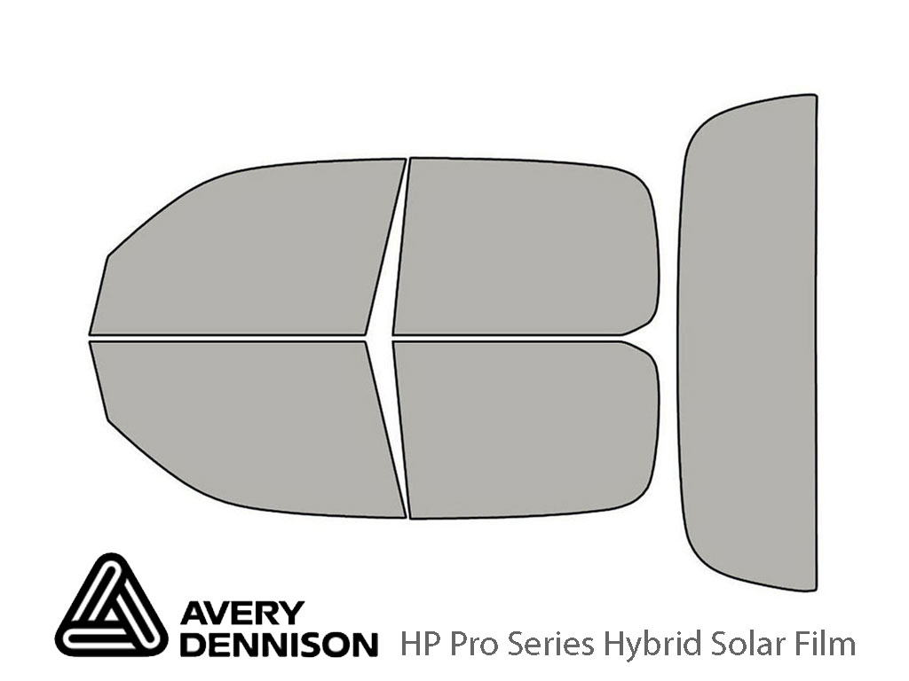 Toyota Tundra 2000-2006 4 Door Avery Hybrid Window Tint
