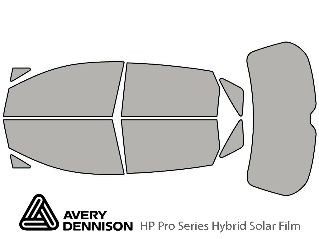 Avery Dennison Toyota Venza 2009-2015 HP Pro Window Tint Kit