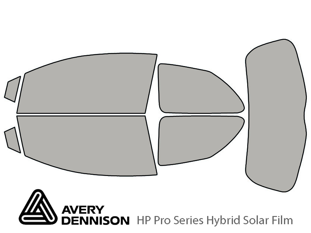 Avery Dennison Toyota Yaris 2007-2011 (2 Door Hatchback) HP Pro Window Tint Kit