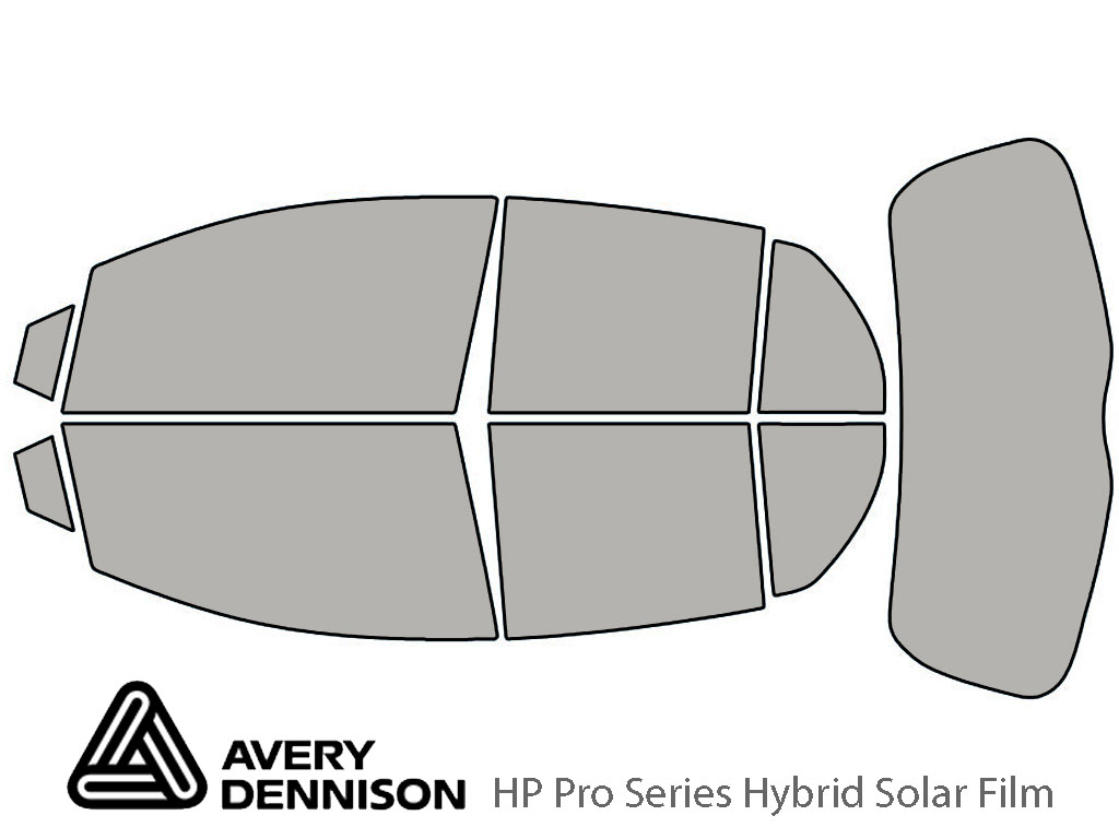 Avery Dennison Toyota Yaris 2007-2011 (5 Door Hatchback) HP Pro Window Tint Kit