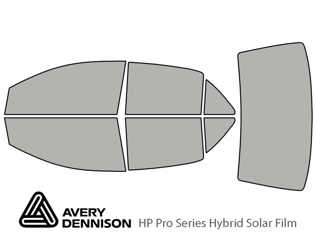 Avery Dennison Toyota Yaris 2007-2012 (Sedan) HP Pro Window Tint Kit