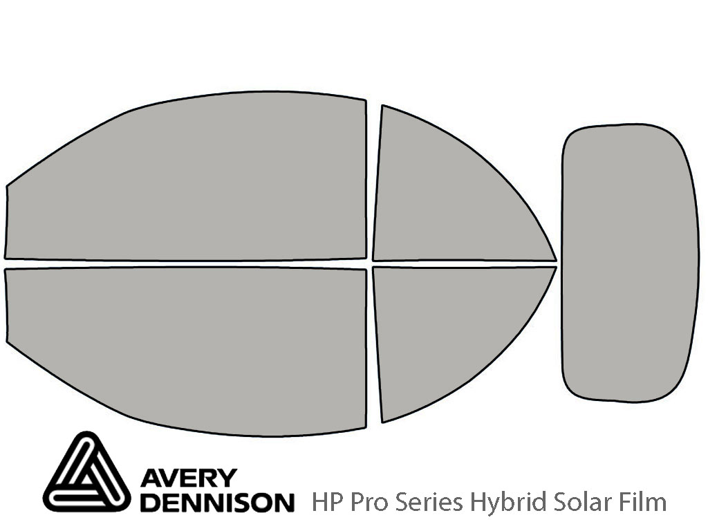 Avery Dennison Volkswagen Beetle 2003-2010 (Convertible) HP Pro Window Tint Kit
