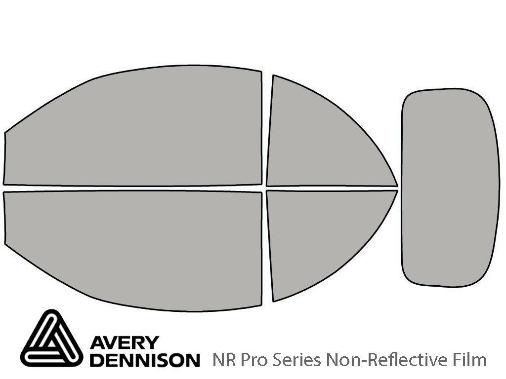 Avery Dennison Volkswagen Beetle 2003-2010 (Convertible) NR Pro Window Tint Kit