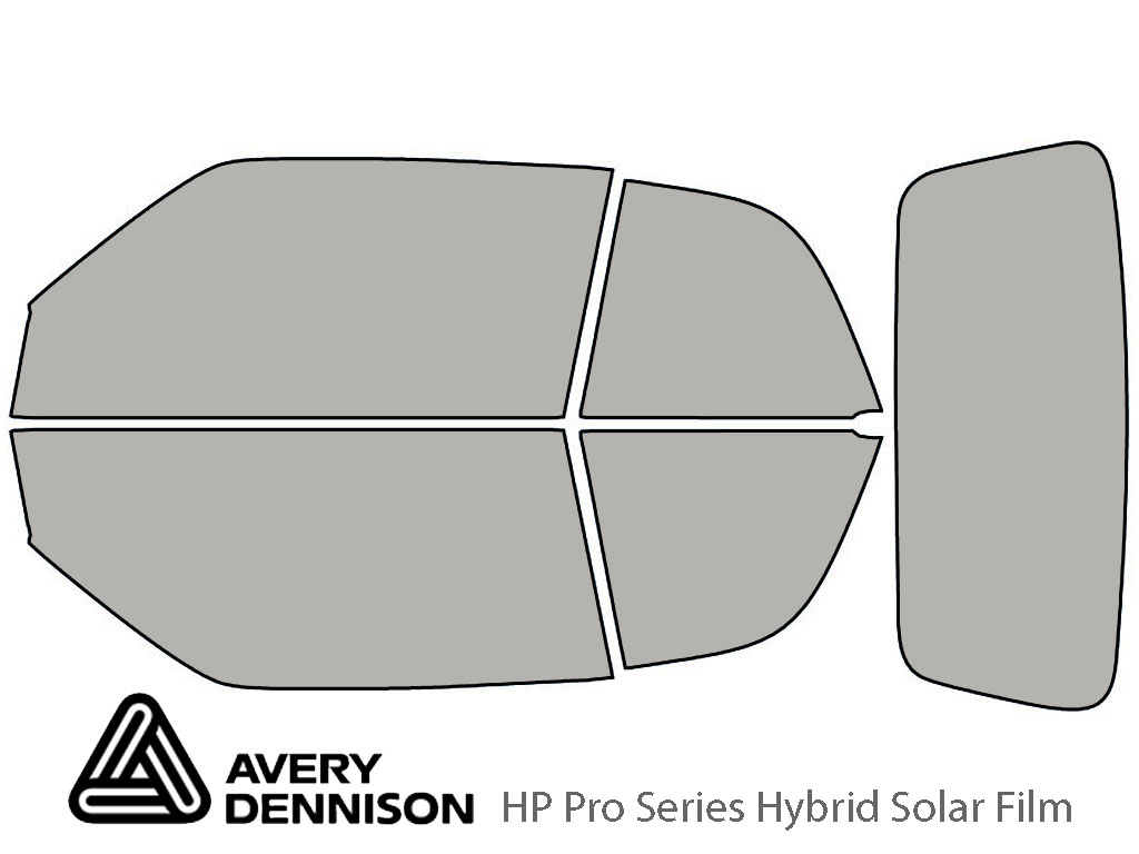 Avery Dennison Volkswagen Cabrio 1996-2002 HP Pro Window Tint Kit