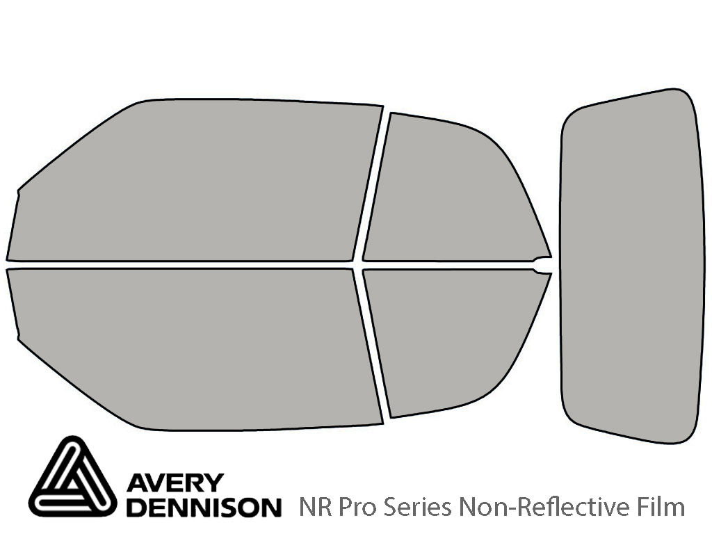 Avery Dennison Volkswagen Cabrio 1996-2002 NR Pro Window Tint Kit