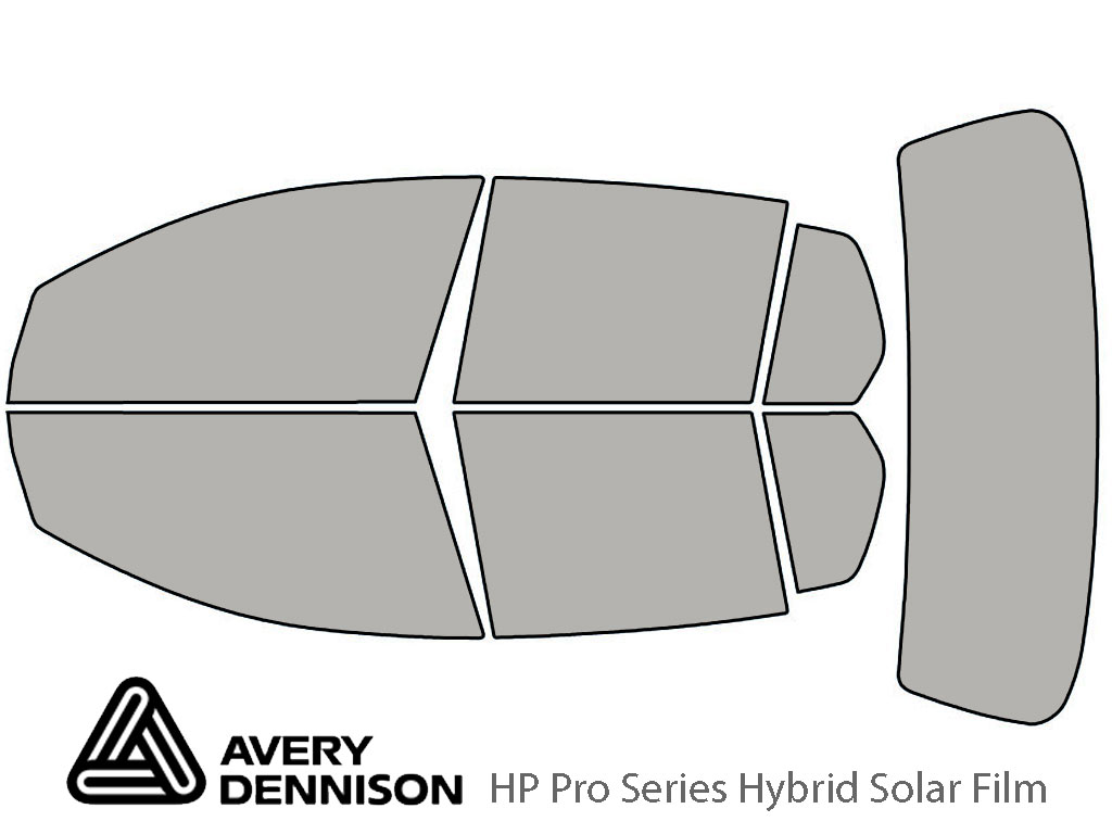 Avery Dennison Volkswagen GTI 2010-2014 (4 Door) HP Pro Window Tint Kit