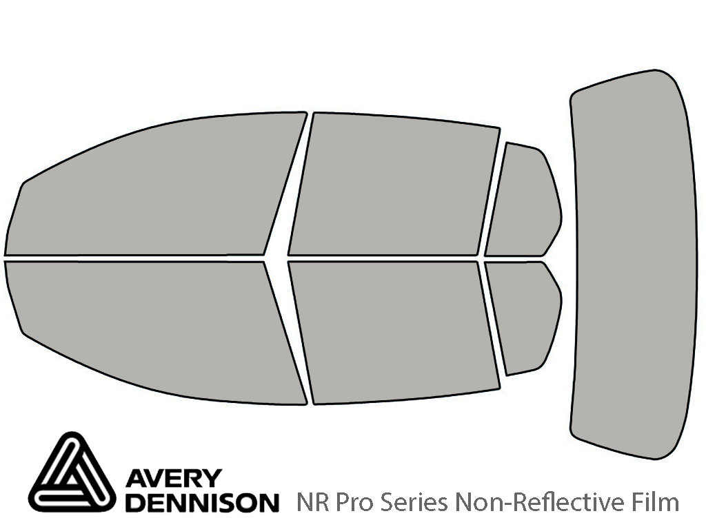 Avery Dennison Volkswagen GTI 2010-2014 (4 Door) NR Pro Window Tint Kit