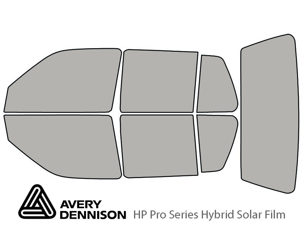 Avery Dennison Volkswagen Golf 1993-1999 (4 Door) HP Pro Window Tint Kit