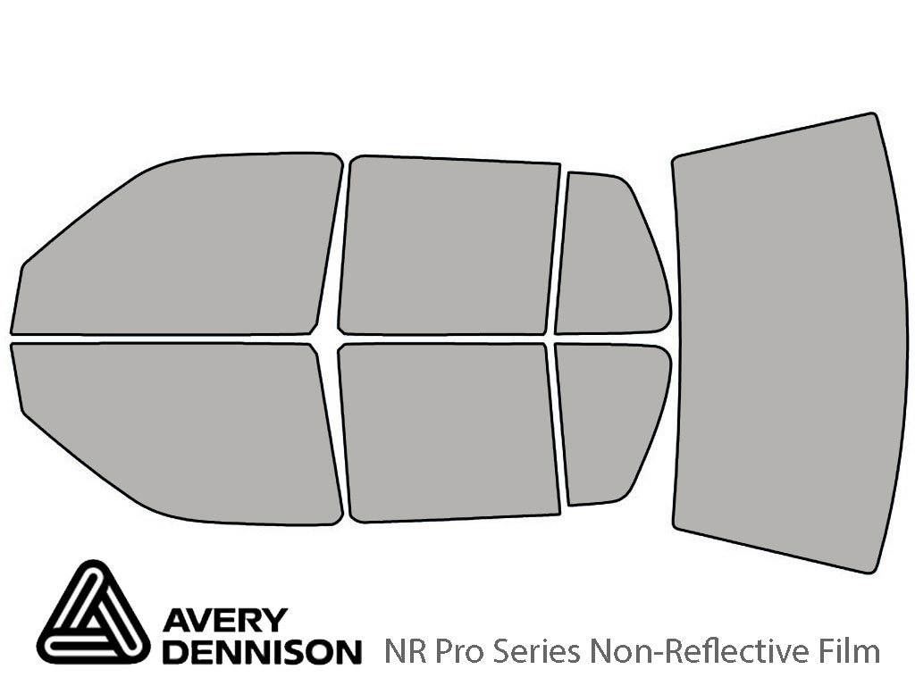 Avery Dennison Volkswagen Jetta 1993-1998 NR Pro Window Tint Kit