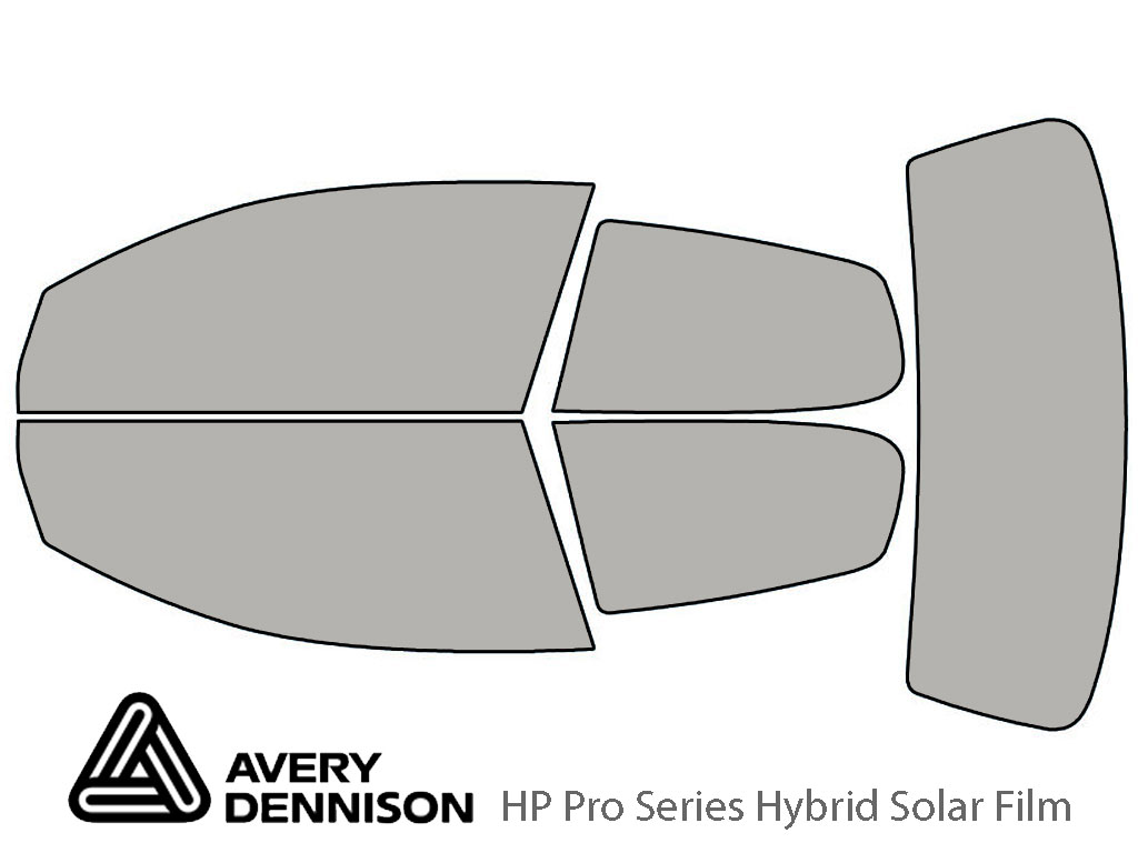 Avery Dennison Volkswagen Rabbit 2006-2009 (2 Door) HP Pro Window Tint Kit