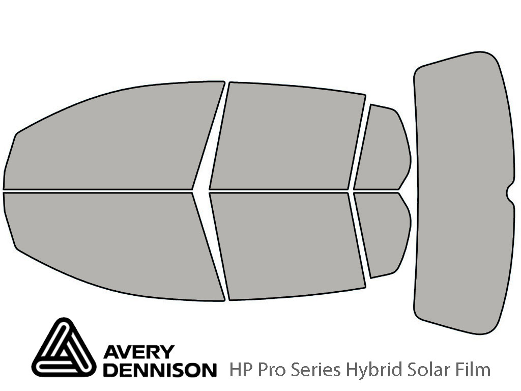 Avery Dennison Volkswagen Rabbit 2006-2009 (4 Door) HP Pro Window Tint Kit