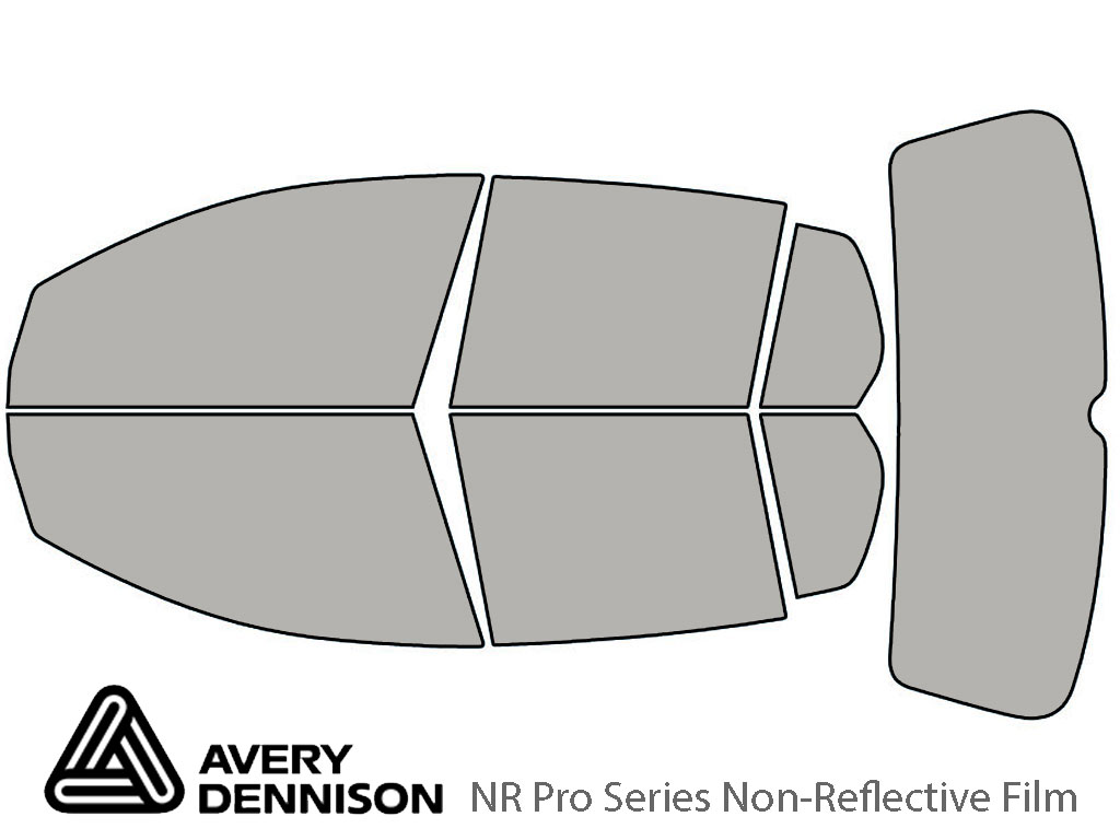 Avery Dennison Volkswagen Rabbit 2006-2009 (4 Door) NR Pro Window Tint Kit