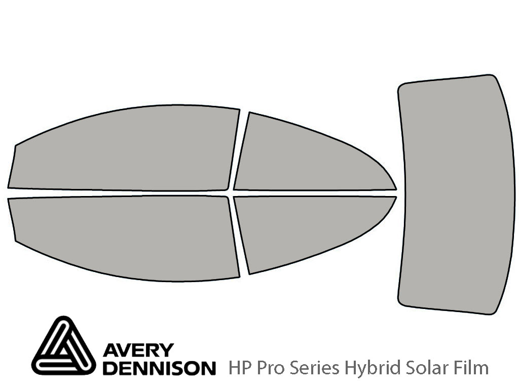 Avery Dennison Volvo C70 2006-2013 HP Pro Window Tint Kit