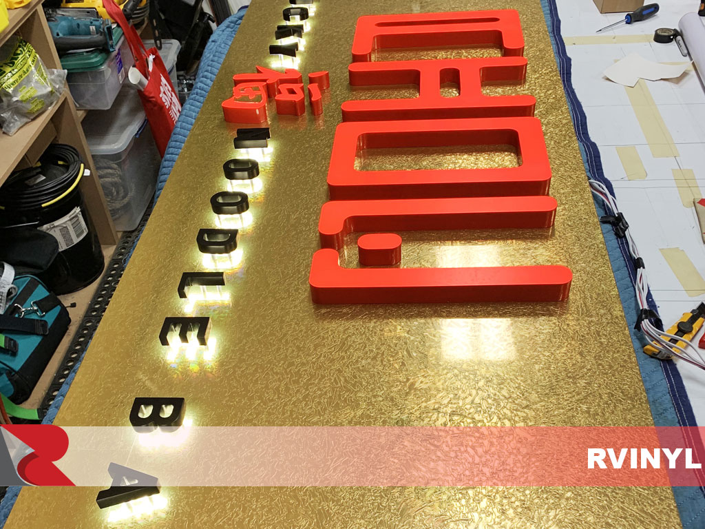 Avery™ Gold Leaf High Gloss Sign Film