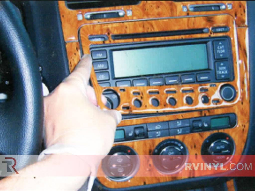 Dash Kit Installation, Radio Trim Surround Installation