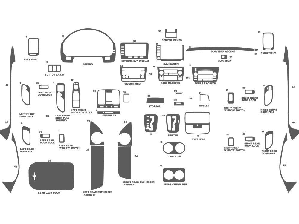 2007 acura mdx fuse box diagram image details