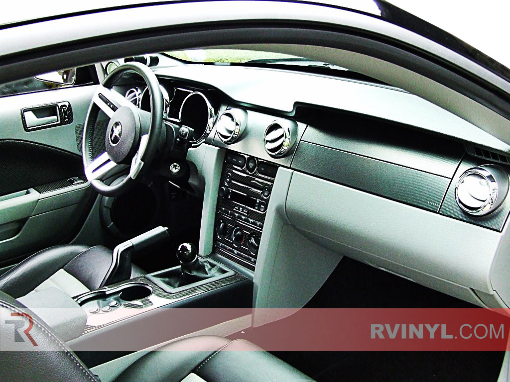 Ford Mustang Carbon Dash Trim