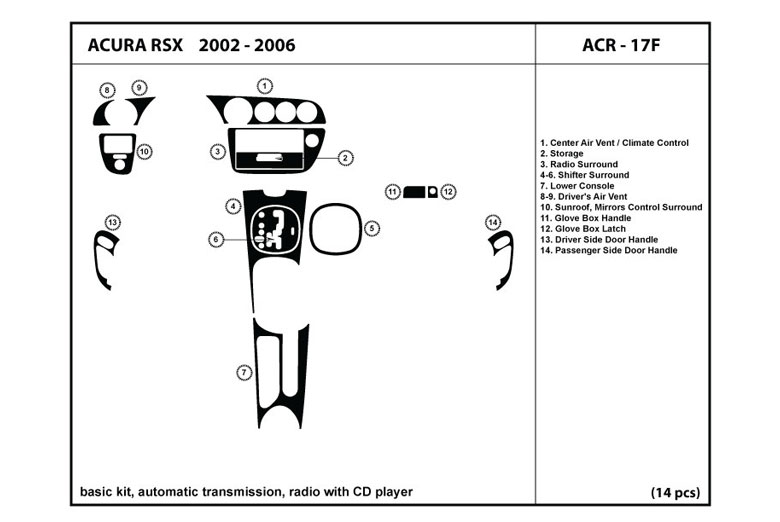 Dl Auto U2122 Acura Rsx 2002