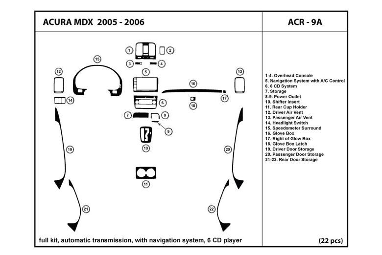 2005 acura mdx dashboard warning lights. Black Bedroom Furniture Sets. Home Design Ideas