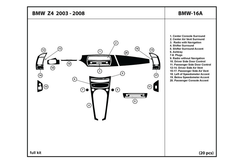 Bmw Z4 2004 Driver Door Diagram Bmw Auto Parts Catalog