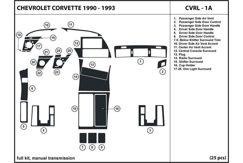 94 Chevrolet Corvette Engine Diagram