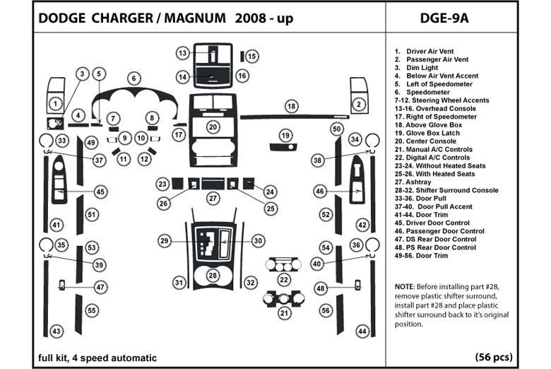 Dl Auto U00ae Dodge Charger 2008