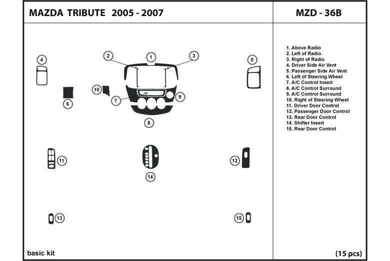 Dl Auto U2122 Mazda Tribute 2005