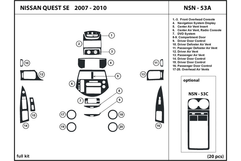 service manual  2007 nissan quest dash removal diagram  nissan quest auto parts online 2007 nissan quest service manual pdf 2007 nissan quest service manual pdf