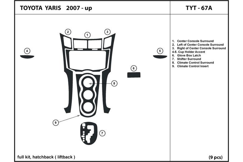 Dl Auto U00ae Toyota Yaris 2007