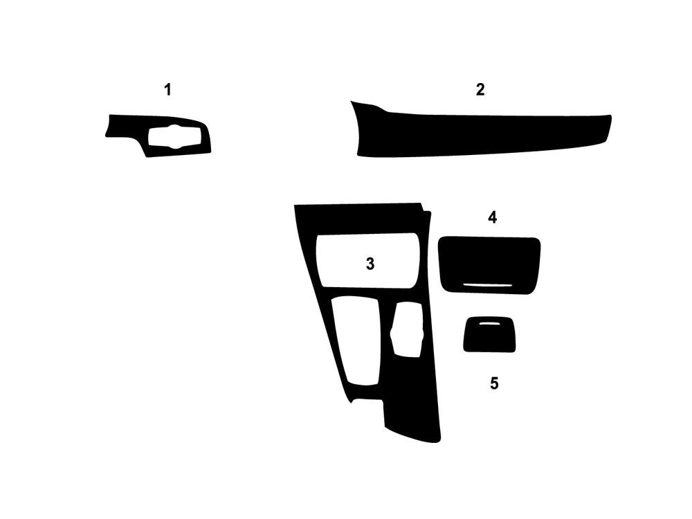 2015 BMW    X1    Dash Kits   Custom 2015 BMW    X1    Dash Kit