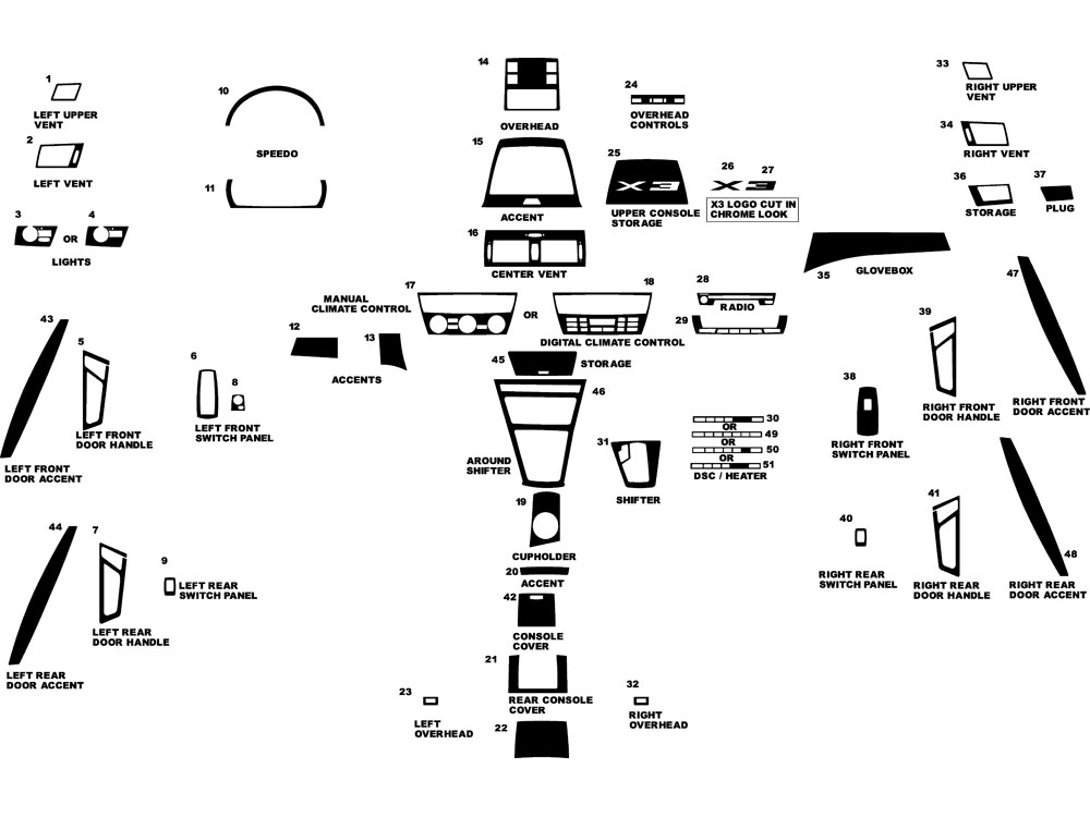 34 Bmw X3 Parts Diagram