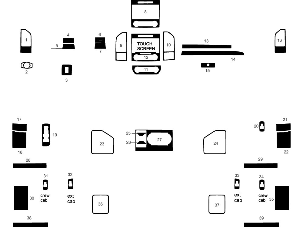 ford f parts diagrams enthusiast wiring lariat fuse box