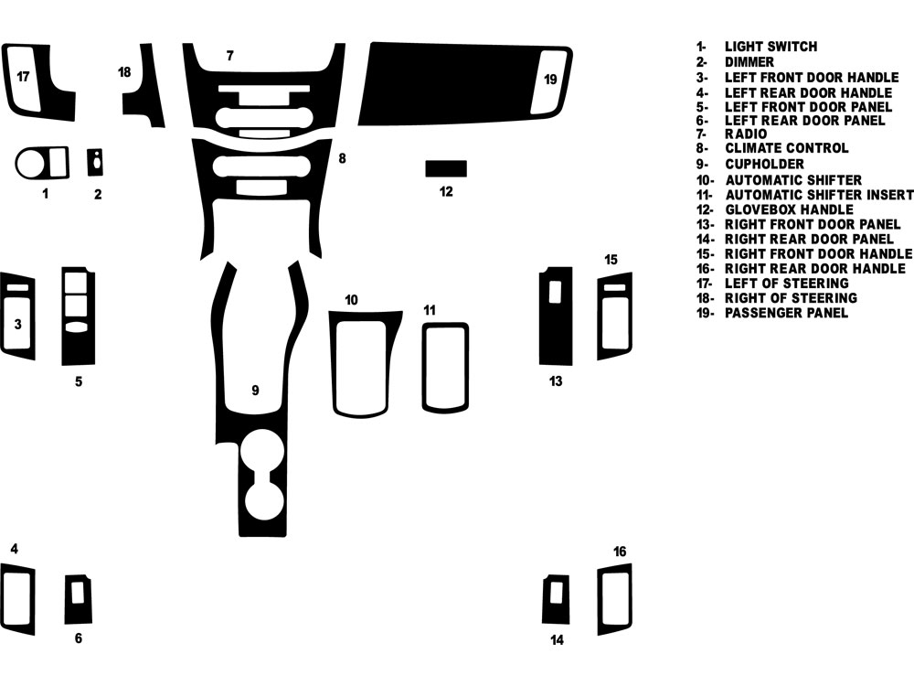 2012 ford fiesta parts diagram