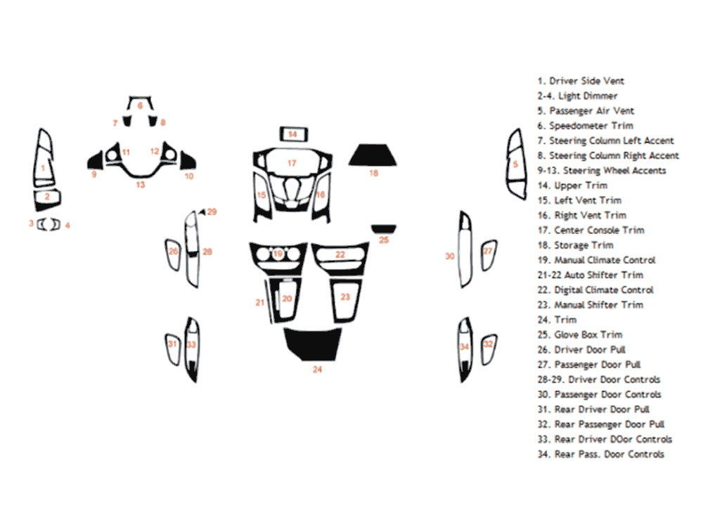 DK FRD FOC 12 2013 ford focus dash kits custom 2013 ford focus dash kit Ford Engine Parts Diagram at alyssarenee.co