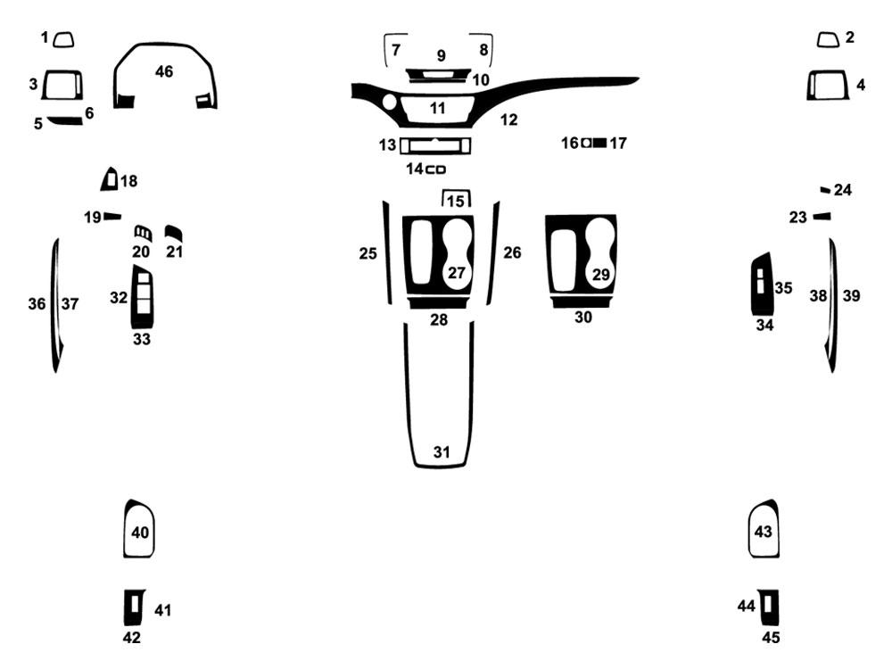 honda pilot exterior diagram html