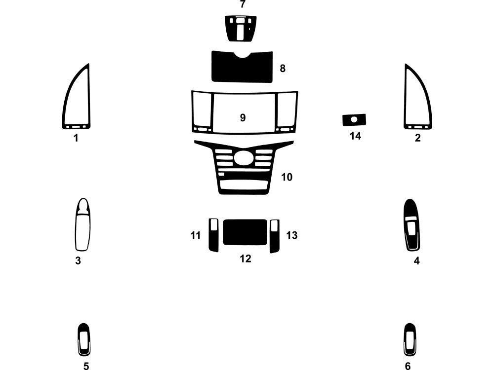 2014 infiniti qx80 dash kits custom 2014 infiniti qx80. Black Bedroom Furniture Sets. Home Design Ideas