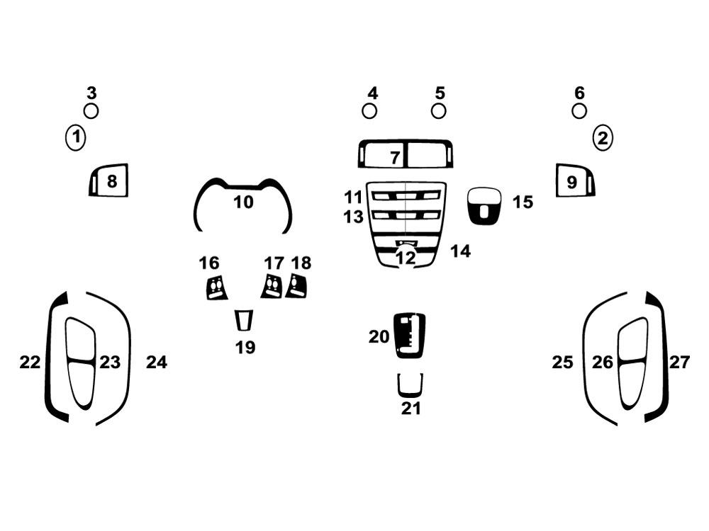 jaguar xk 2008 2015 dash kits diy dash trim kit engine belt diagrams jaguar xk 2008 2015 dash kit diagram