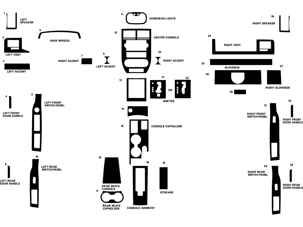 Tuff Country 4 Ez Flex Tj 449024 in addition Jeep Cj7 also 97 06 Tj Lj Front Track Bar moreover 14133 3002 besides Jeep  pass Diagram. on jeep jk dash kits
