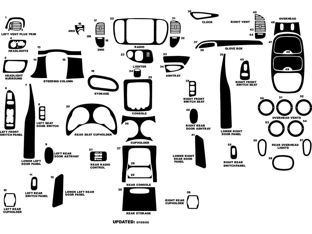 1998 Lincoln Navigator Dash Kits Custom 1998 Lincoln Navigator Dash Kit