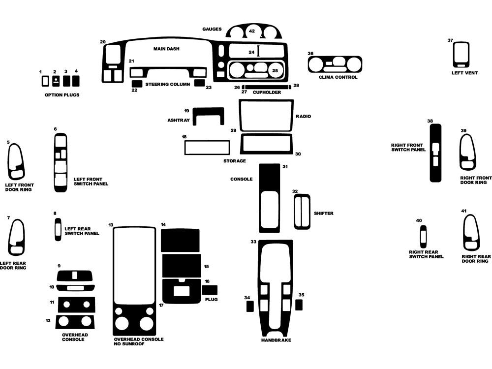 Mitsubishi Montero Sport Diagram Everything About Wiring. Mitsubishi Montero Sport 1997 1998 Dash Kits Diy Trim Kit Rh Rvinyl. Mitsubishi. 1998 Mitsubishi Montero Electrical Diagrams At Scoala.co