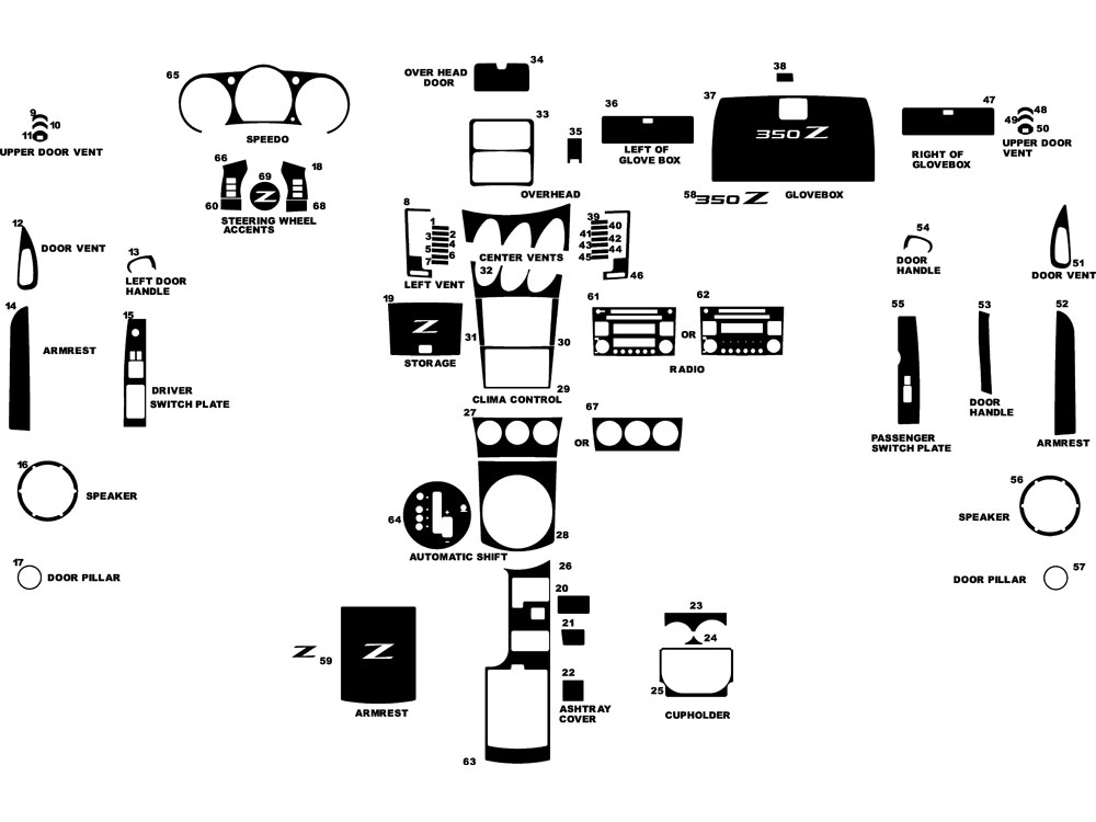 2003 Nissan 350z Engine Parts Diagram | Reviewmotors.co
