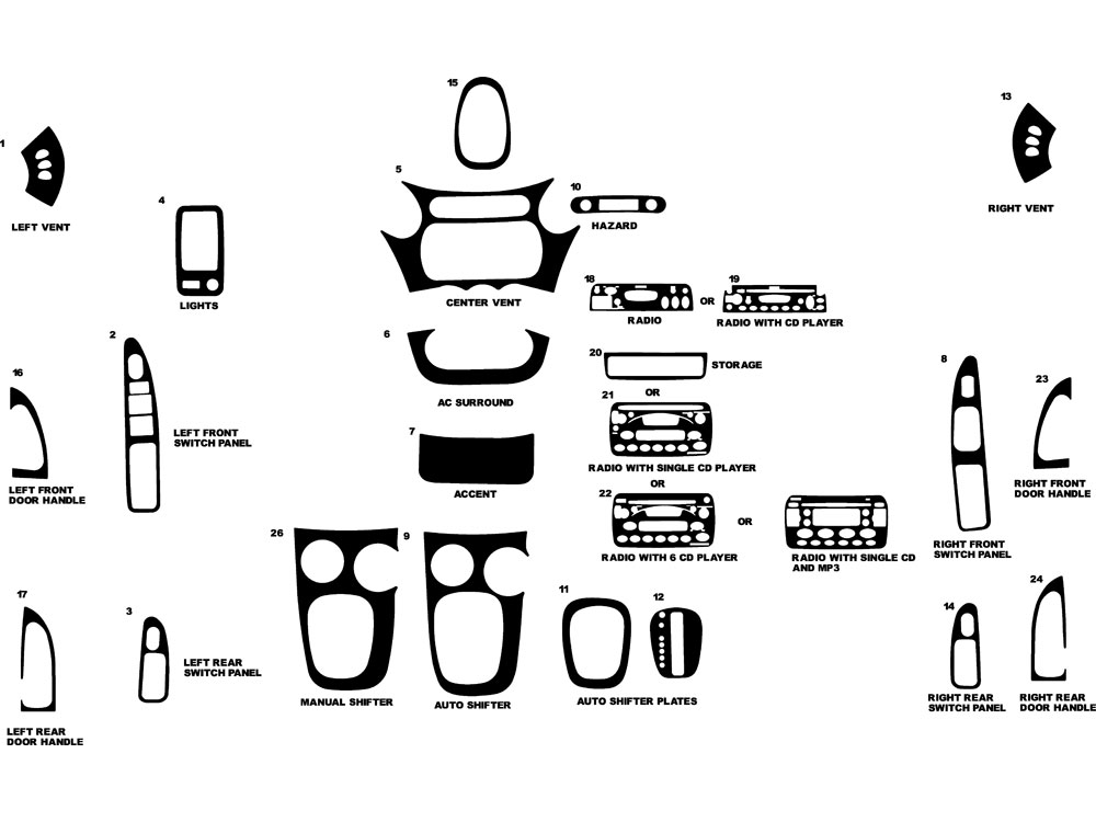 2006 mitsubishi endeavor parts diagram html