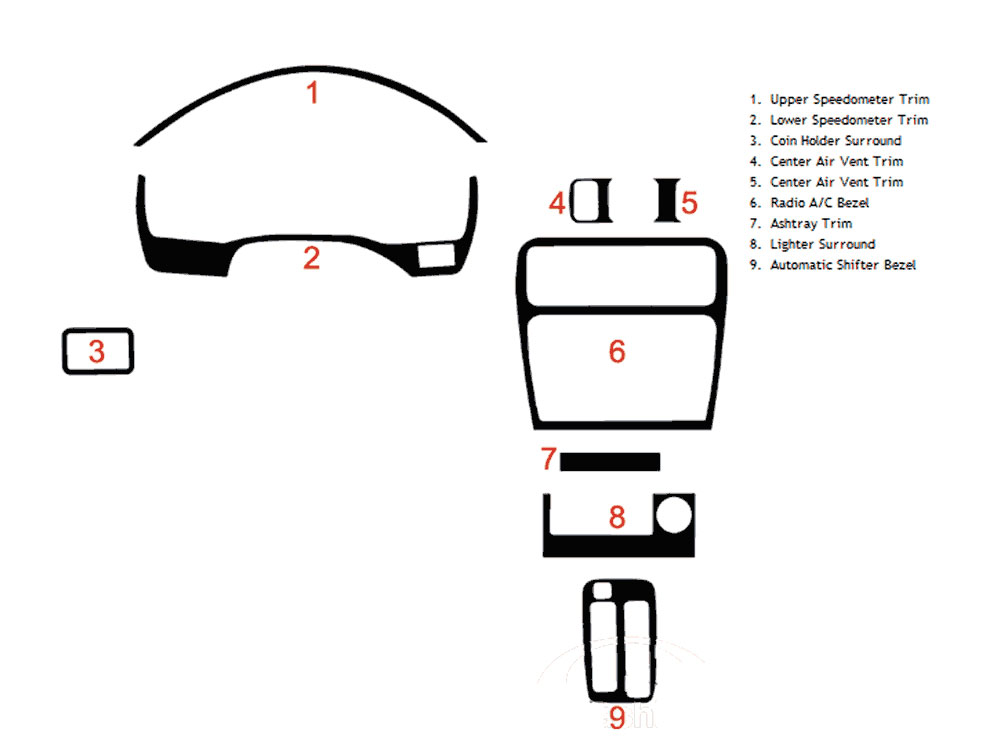 toyota celica dash diagram
