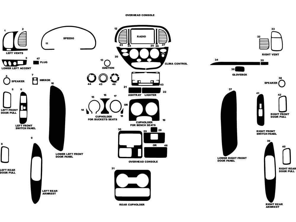2000 Toyota Tundra Seat Diagram: 2000 Tundra Dash Wiring Diagram At Freeautoresponder.co