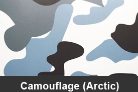 Arctic Camouflage Pillar Post Trim Kits