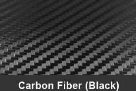 Black 3D Carbon Fiber Pillar Post Trim Kits